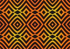 Tela africana de la impresión, ornamento hecho a mano étnico para sus elementos geométricos del diseño, étnicos y tribales de los libre illustration