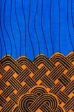 Tela africana manufaturado (algodão) imagens de stock royalty free