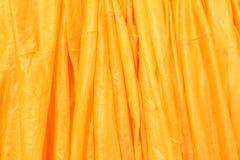 Tela amarela brilhante da corda Fotografia de Stock