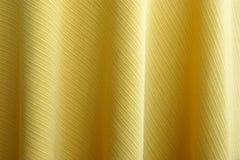 Tela amarilla Imagen de archivo libre de regalías