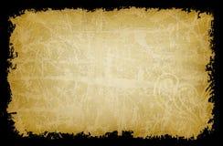 Tela amarilla de Grunge   Fotografía de archivo libre de regalías