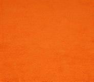 Tela anaranjada superficial para el fondo Imagenes de archivo