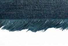 Tela azul Foto de archivo libre de regalías