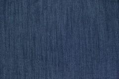 Tela azul da sarja de Nimes Fotos de Stock