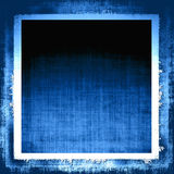 Tela azul de Grunge Imagen de archivo libre de regalías