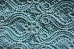 Tela azul del cordón Imagenes de archivo