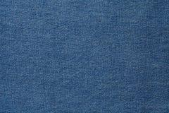 Tela azul del dril de algodón Imágenes de archivo libres de regalías