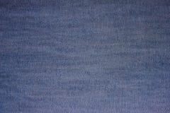 Tela azul del dril de algodón de la textura foto de archivo libre de regalías