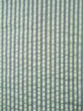 Tela azul do seersucker Fotos de Stock