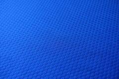 Tela azul eléctrica del telar jacquar Fotos de archivo libres de regalías