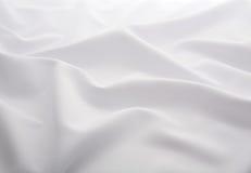 Tela blanca Foto de archivo libre de regalías