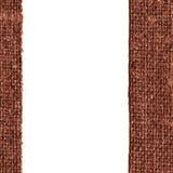 Tela cerata del tessuto, tela da imballaggio del tessuto, tela marrone, materiale completo, fondo retro-disegnato Fotografia Stock