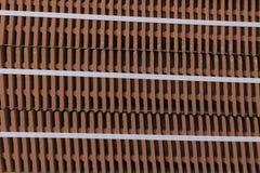 Tela cheia com telhas de telhado fotografia de stock royalty free