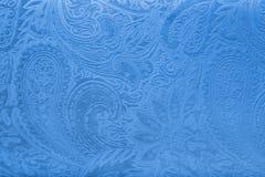 Tela cinzenta ou de prata de veludo com um teste padrão floral elegante do vintage ou uma textura luxuosa Imagens de Stock