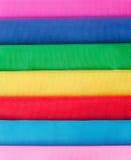 Tela colorida Foto de archivo libre de regalías