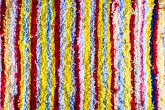 Tela colorida de la tribu Fotografía de archivo libre de regalías