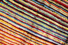 Tela colorida de la tribu Imagen de archivo