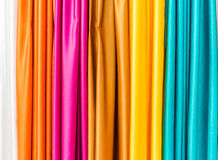 Tela colorida - opiniones de Curaçao imagen de archivo