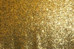 Tela con lentejuelas del oro Imagenes de archivo
