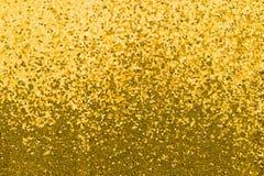 Tela con lentejuelas del oro Imagen de archivo libre de regalías