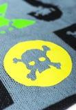 Tela con los cráneos Imagen de archivo
