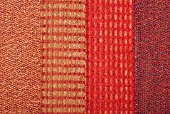 Tela con texturas Fotos de archivo