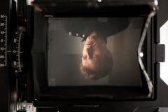 Tela da câmera da película Imagem de Stock Royalty Free