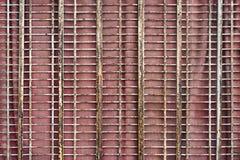 Tela da janela do metal Fotografia de Stock