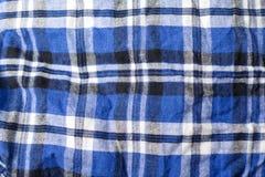 Tela da manta com cores diferentes Fotografia de Stock