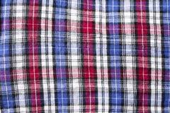 Tela da manta com cores diferentes Foto de Stock Royalty Free