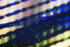 Tela da tevê do plasma Fotos de Stock