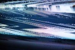 Tela da tevê do pulso aleatório Imagem de Stock Royalty Free