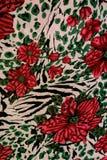 Tela da textura de cópias do tigre Fotografia de Stock