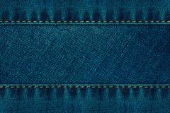Tela das calças de brim Foto de Stock