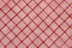 Tela de algodón controlada diagonal Fotografía de archivo