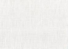 Tela de algodón blanca Imágenes de archivo libres de regalías