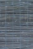 Tela de bambu azul da janela Foto de Stock Royalty Free