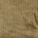 Tela de brim de Brown Foto de Stock