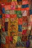 Tela de colores Imagen de archivo