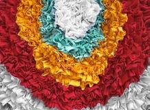 Tela de Colorized Imagen de archivo libre de regalías
