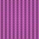 Tela de confecção de malhas cor-de-rosa sem emenda Fotos de Stock Royalty Free