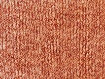Tela de lã feita malha áspera Fotografia de Stock Royalty Free