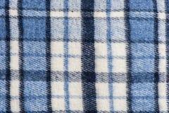Tela de lãs da manta de tartã Imagem de Stock Royalty Free