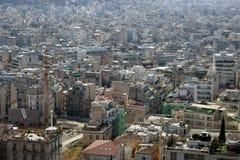 Tela de la ciudad fotos de archivo