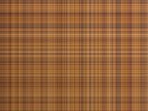 Tela de la tela escocesa de Brown, ejemplo geométrico Foto de archivo libre de regalías