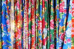 Tela de la flor Fotografía de archivo libre de regalías