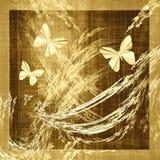 Tela de la lona de Grunge de la mariposa libre illustration