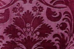 Tela de la tapicería de la vendimia Fotografía de archivo libre de regalías