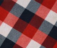 Tela de la tela escocesa Imagen de archivo libre de regalías