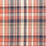 Tela de la tela escocesa Imagen de archivo